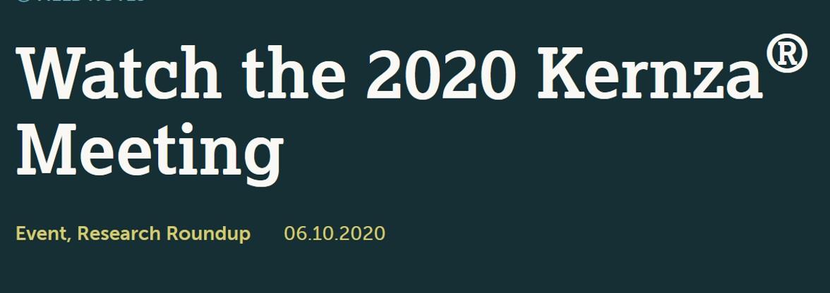 Kernza meeting 2020